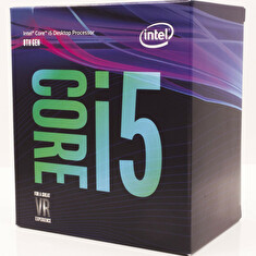Intel Core i5-8600K BOX (3,6GHz, 1151, VGA, Coffee Lake, bez chladiče)