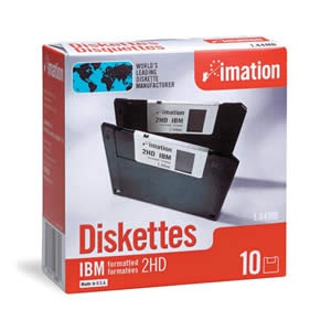 "IMATION disketa HD/F 3,5"" 1,44MB, 10-pack"
