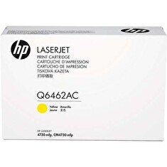 HP originální toner Q6462AC, yellow, 12000str., HP Color LaserJet 4730mfp, 4730x, xm, xs