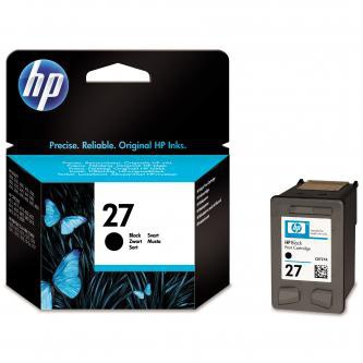 Inkoustová cartridge HP, C8727AE, black, No. 27, 10ml, O - prošlá exp (jan2016)
