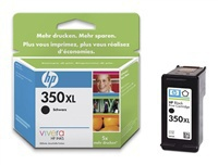 Inkoustová cartridge HP, CB336EE, black, No. 350XL, 25 ml - prošlá exp (nov2017)