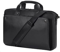 HP Executive 15.6 Black Leather Top Load (J&J) Case
