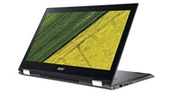 "Acer Spin 5 (SP515-51N-563G) i5-8250U/8GB+N/A/256GB Intel PCIe SSD+N/HD Graphics/15.6"" FHD IPS Multi-Touch/BT/W10 Home/Gray"