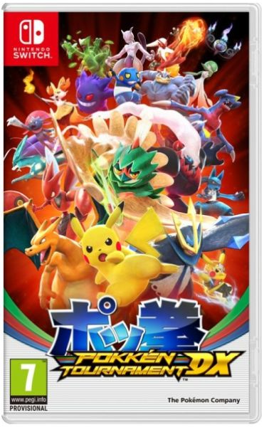 Nintendo SWITCH Pokkén Tournament DX