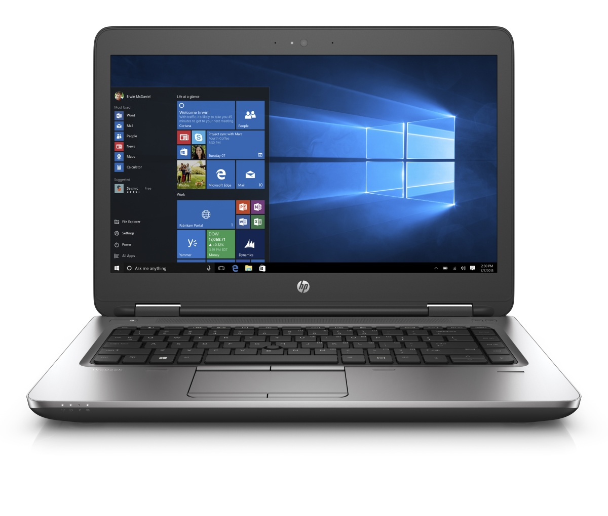"HP ProBook 645 G2 - notebook/ AMD A10-8700B/ 14"" 1366x768/ 4GB RAM/ 500GB HDD/ AMD Radeon R6/ Win 7"