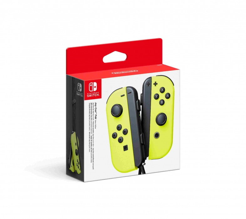 Nintendo Joy-Con Pair Neon Yellow