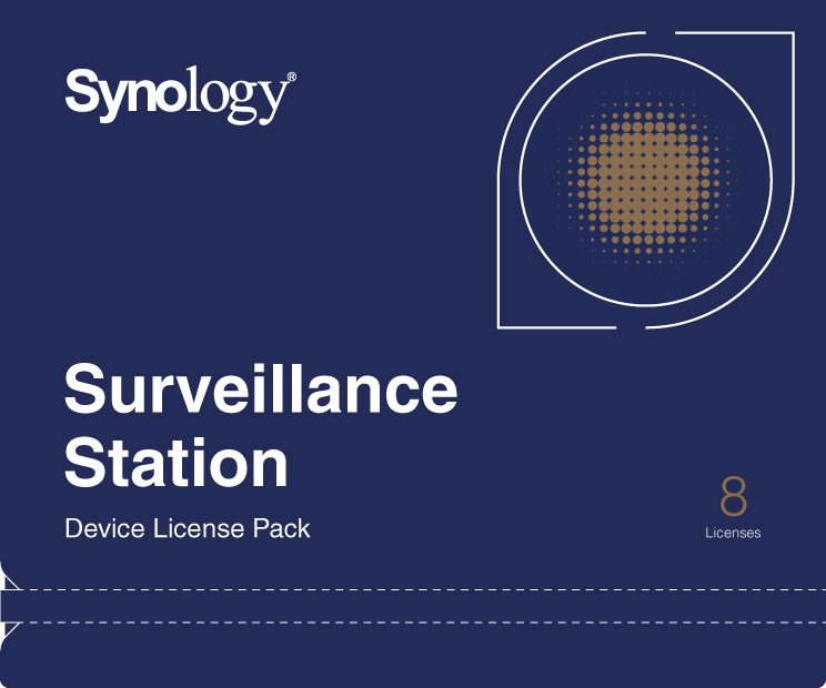 Synology DEVICE LICENSE (X 8) - kamerová licence