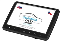 "Luvianta DVD portable, 10,1""; HD (1280x1024), DVD přehrávač (mp4, avi, divx, mpeg, FLV, mov),SD, USB,HDMI, JACK,ovladač"
