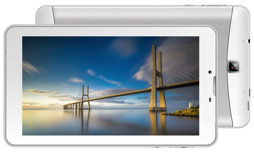 "iGET Tablet Smart G71 - bílý 7"" IPS/ 1024x600/ QuadCore/ 1GB/ 8GB/ 3G/ Android 7"