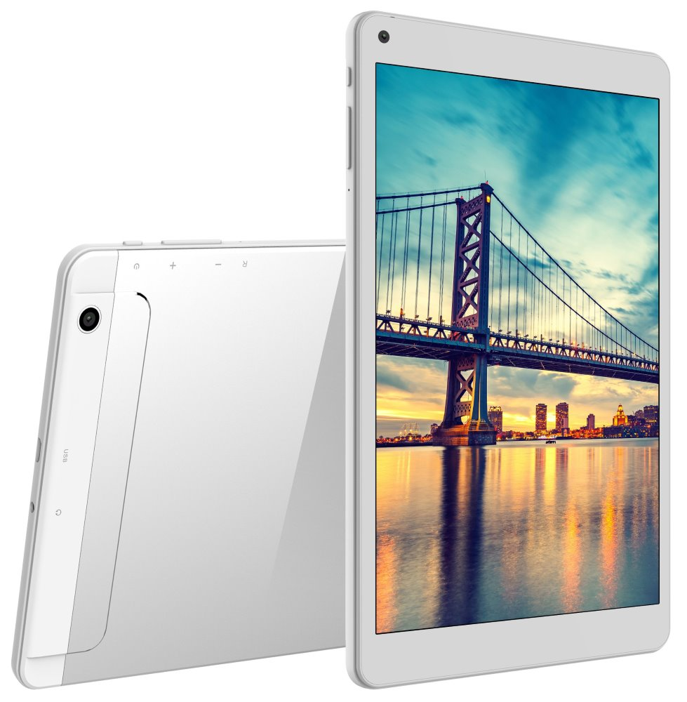 "iGET Tablet Smart G101 - bílý 10,1"" IPS/ 1280x800/ QuadCore/ 1GB/ 8GB/ 3G/ Android 7"
