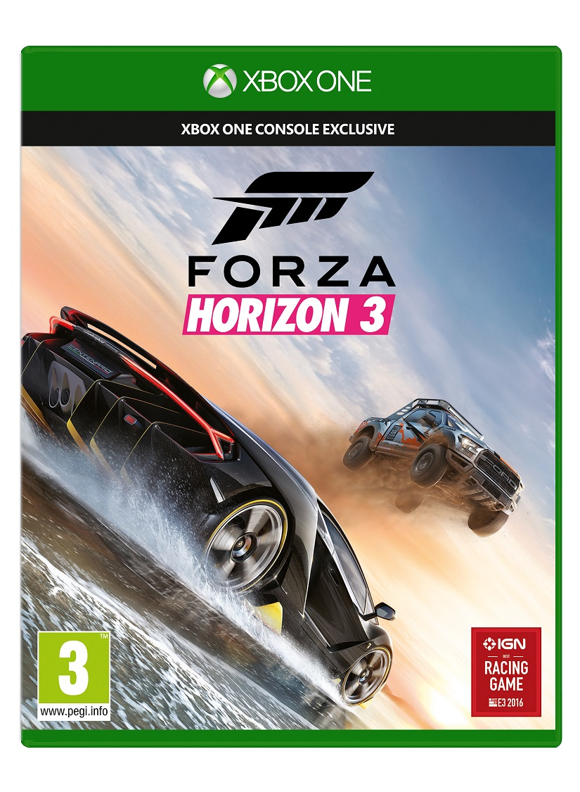 XBOX ONE - Forza Horizon 3