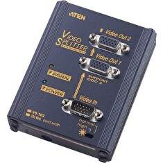 ATEN Video Splitter 2 port 250MHz (VS-102)