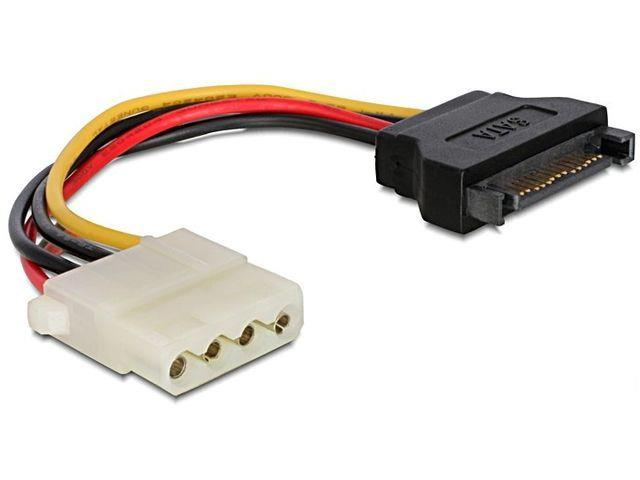 Gembird SATA (male) to Molex (female) power cable, 15cm