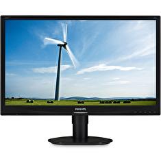 "PHILIPS 22"" LED 220S4LYCB/ 1680x1050/ TN/ 16:10/ 5ms/ 250cd/m2/ DP/ DVI/ D-SUB/ PIVOT/ VESA 100x100/ černý"