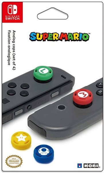 Nintendo Joy-Con Analog Stick Caps - Super Mario