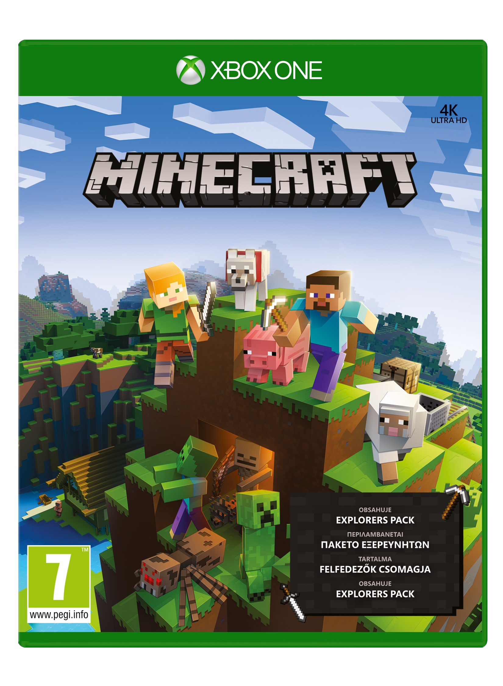 XBOX ONE - Minecraft Explorers Pack