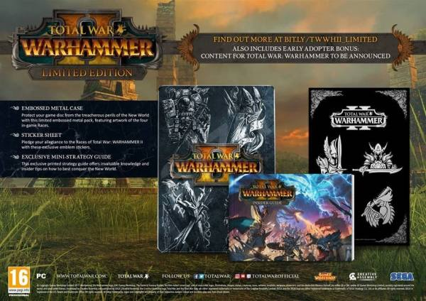 Sega TOTAL WAR: WARHAMMER II LIMITED EDITION PC hra