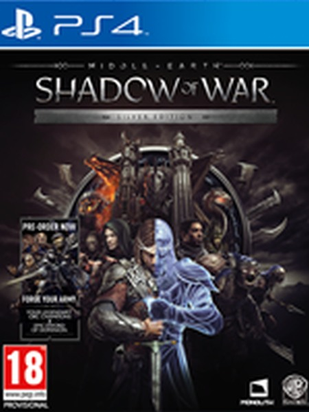 MIDDLE-EARTH: SHADOW OF WAR SILVER EDITION PS4