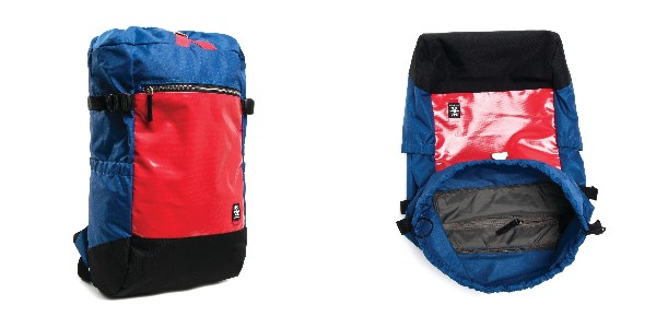 Crumpler Sixtyniner - blue/red