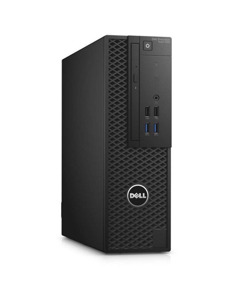 DELL Precision T3420 SF/ Xeon E3-1220 v5/ 16GB/ 256GB SSD/ Quadro P600/ DVDRW/ W7Pro (W10P+down.)/ vPro/ 3YNBD on-site