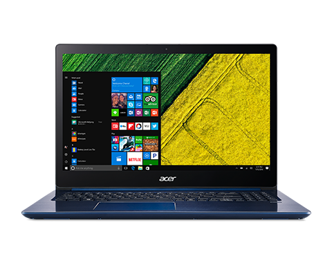 "Acer Swift 3 (SF315-51-54UV) Core i5-8250U/8GB+N/A/512GB SSD +N/15.6"" FHD IPS LCD/HD Graphics/W10 Home/Blue"