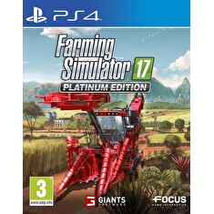 PS4 - Farming Simulator 17 - Platinum Edition