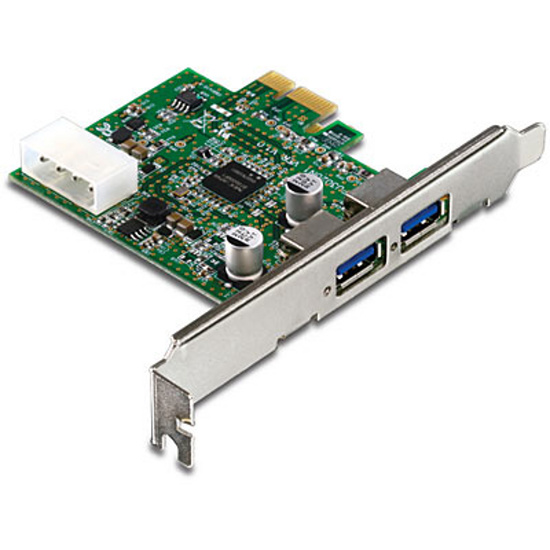 Řadič Trendnet TU3-H2PIE 2x USB 3.0 do PCI-E