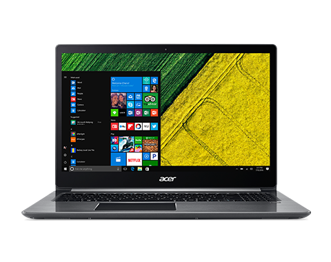 "Acer Swift 3 (SF315-41-R50H) AMD Ryzen 5 2500U/8GB/256GB+N(HDD)/15.6""FHD IPS LCD/HD Graphics/W10 Home/Gray"