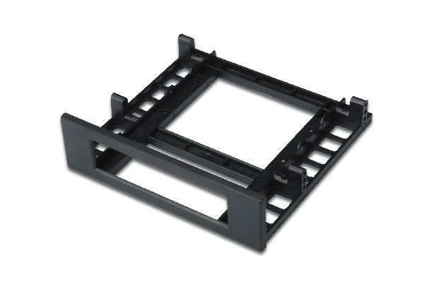 Floppy Mounting Frame,for fixing FDD size in CD/DVD slot Color: black