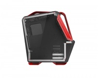 Spire skříň SIRYUS BASIC, USB 3.0, gaming, bez zdroje, Black/Red