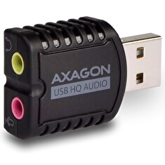 AXAGON ADA-17 USB2.0 - stereo HQ audio MINI adapter 24bit 96kHz