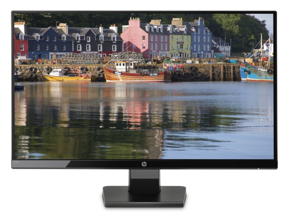 "HP 27w/ 27"" IPS/ 1920x1080/ LED/ 250cd/ 10M:1/ 5ms/ VGA/ HDMI"