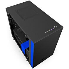 NZXT computer case H200i Black/Blue