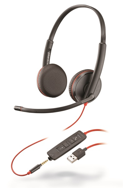 Plantronics Blackwire C3215, Duo, USB/Jack