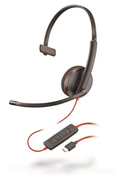 Plantronics Blackwire C3210, Mono, USB-C