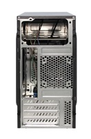 Eurocase skříň MC X202 350W FSP 350APN 85+ black, micro tower