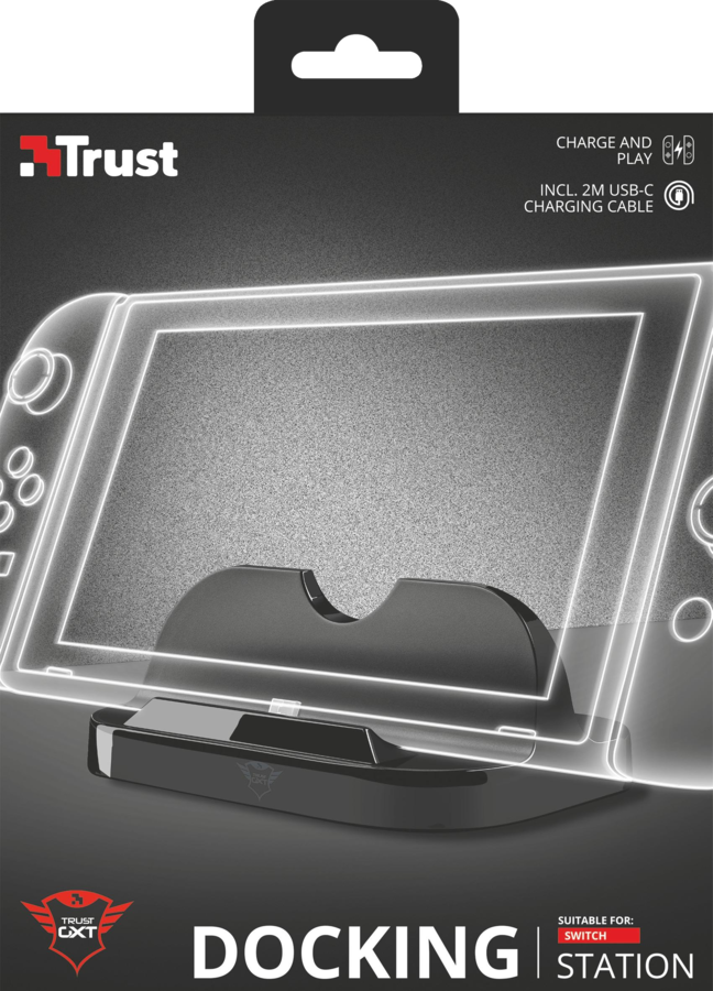 TRUST GXT 1226 Charging Dock suitable for switch