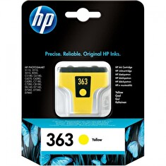 Inkoustová cartridge HP C8773EE, yellow - prošlá epxirace (sep15)