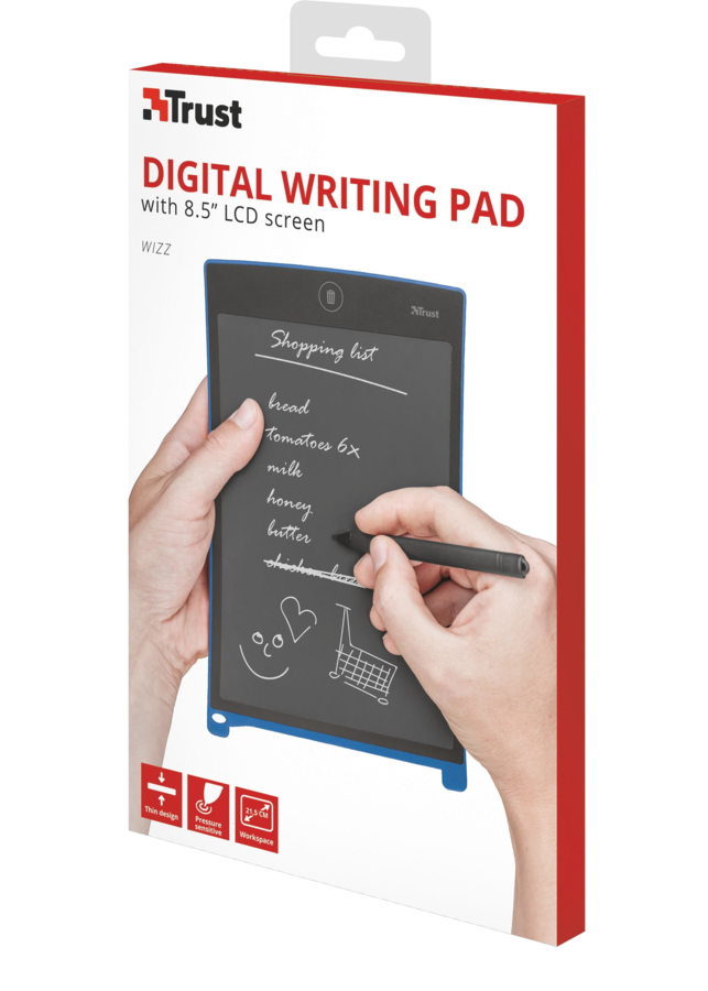 "TRUST Wizz Digital Writing Pad with 8,5"" LCD"