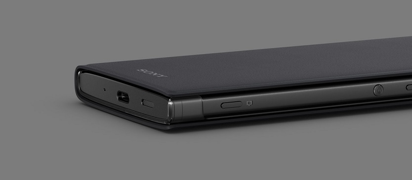 SCTH50 Sony Style Cover Touch pro Xperia XZ2 Compact Black