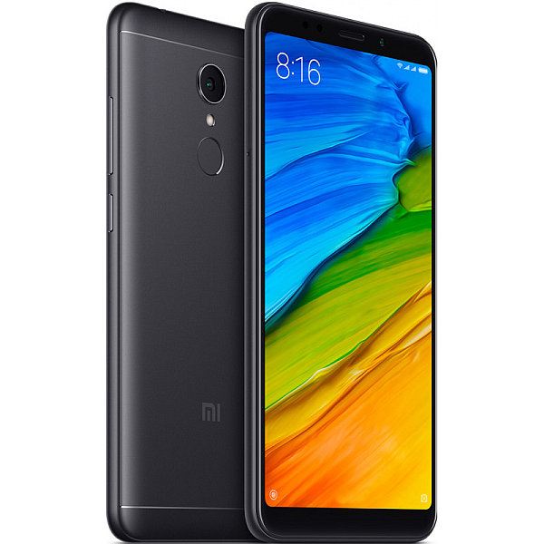 Xiaomi Redmi 5 Global Black/5,7´´ 1440x720/1,8GHz OC/2GB/16GB/SD/2xSIM/FP/12MPx/3300mAh