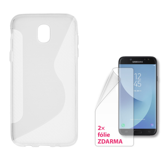 CONNECT IT S-COVER pro Samsung Galaxy J7 (2017, SM-J730F) ČIRÉ