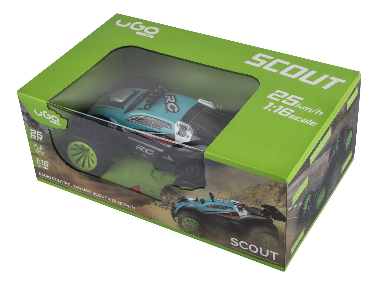 RC model UGO Scout 1:16 25 km/h