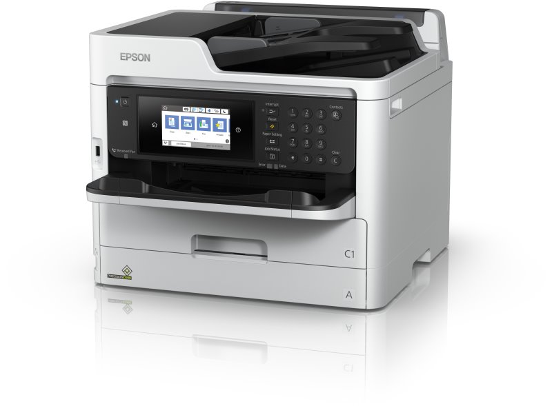 EPSON WorkForce Pro WF-C5790DWF - A4/34ppm/4ink/USB/LAN/Duplex/ADF/Fax/NFC