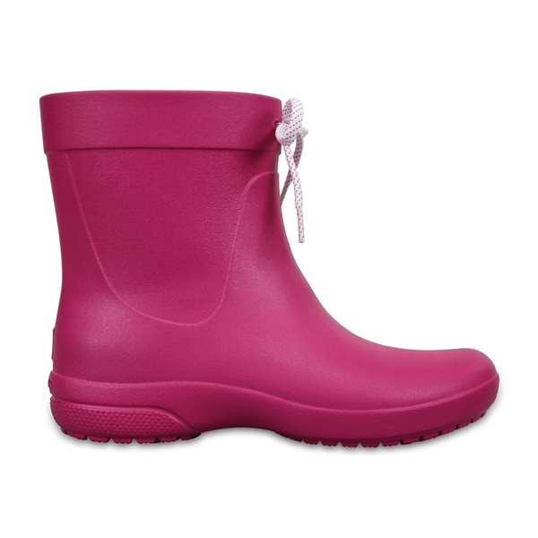 Boty Crocs Freesail Shorty RainBoot - Berry W9 (39-40)