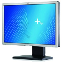 "LCD HP 24"" LP2465; black/silver, B+"