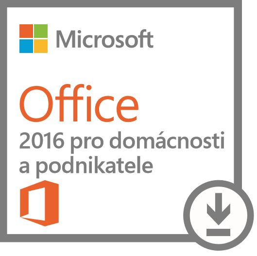 MS Software :Microsoft Office Home and Business 2016 - urceno pro produkty Dell