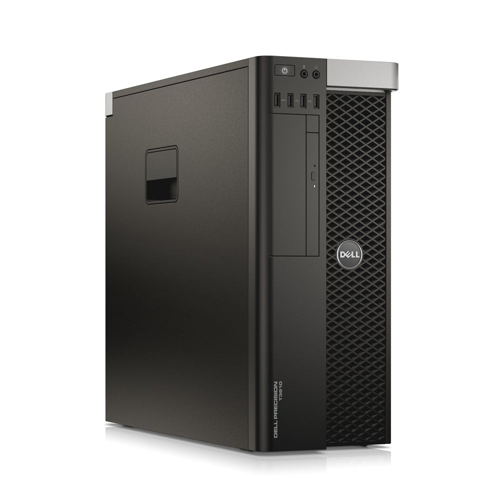 Dell Precision T3610; Intel Xeon E5-1603 2.8GHz/32GB DDR3 ECC/256GB SSD + 500GB HDD