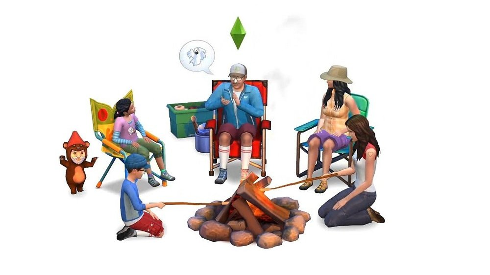 The Sims 4 Únik do přírody