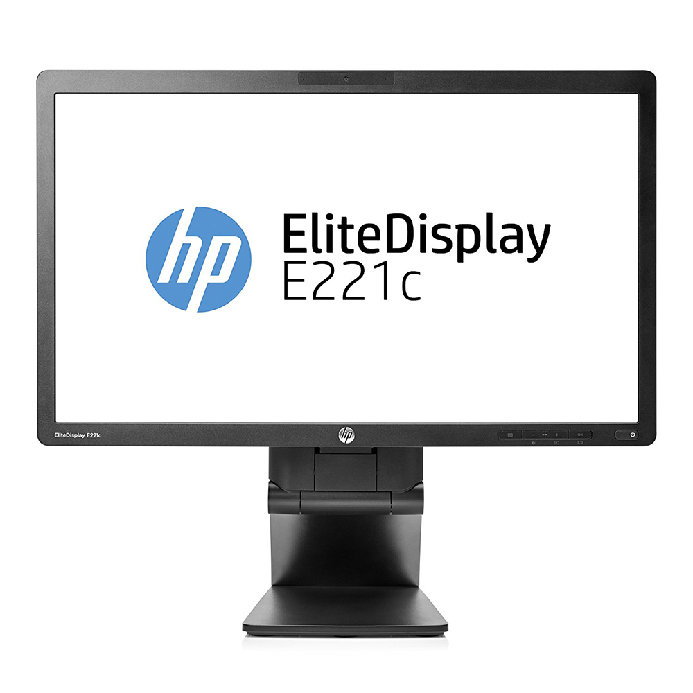 "LCD HP EliteDisplay 22"" E221c; black, B+"
